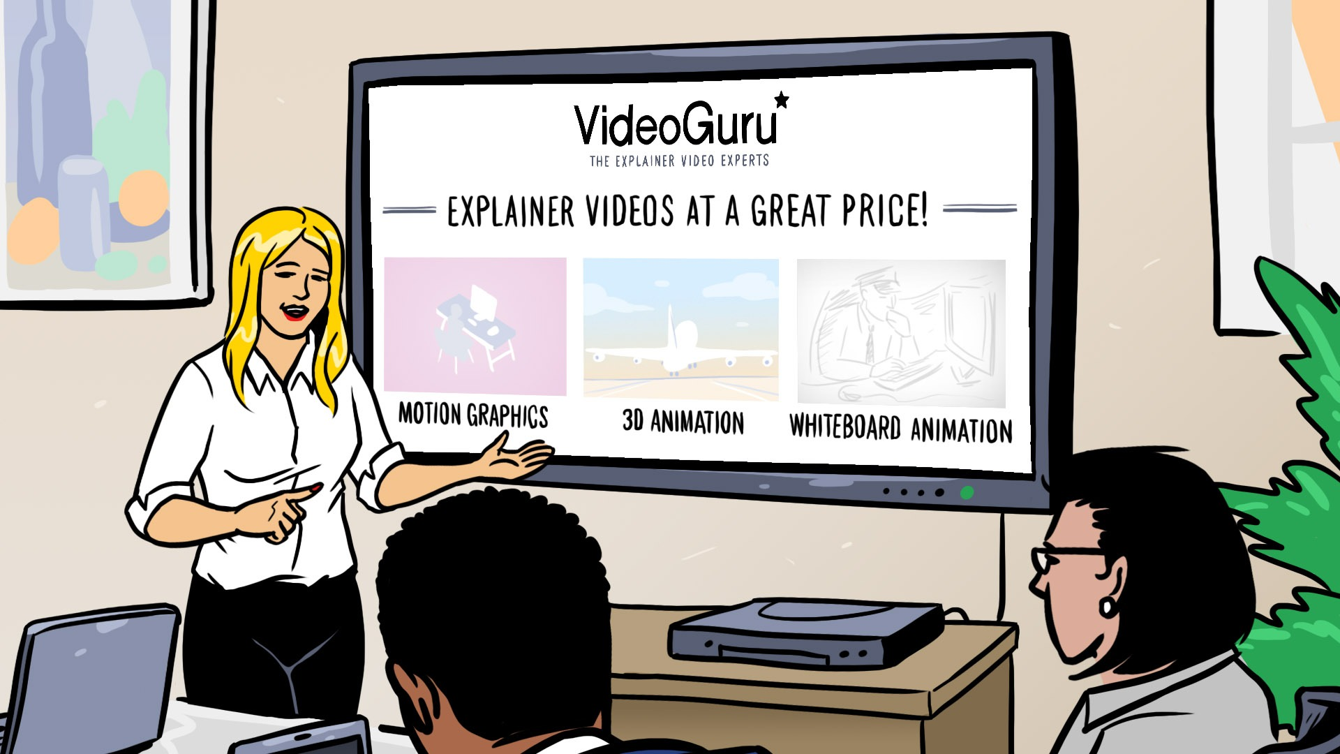 סרטוני וידאו שיווקיים לעסקים
