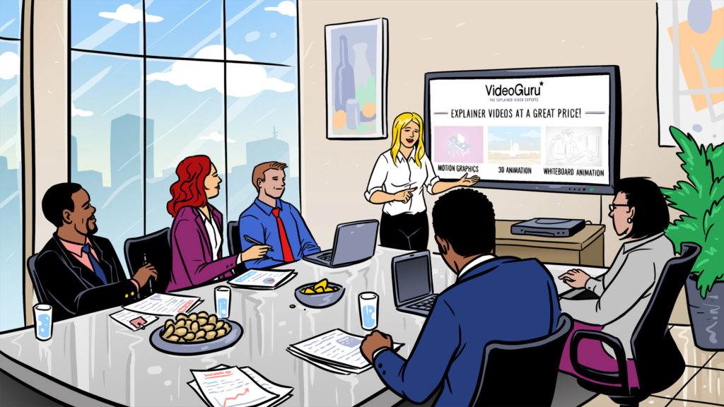 Animated videos for e-learning